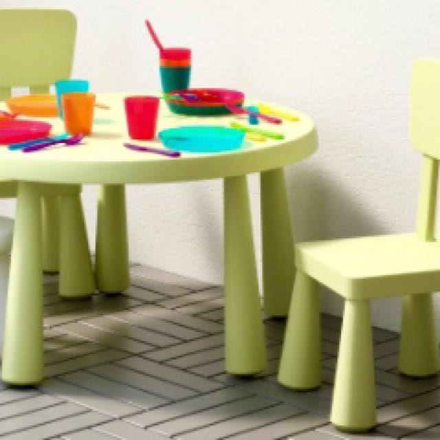 Almost New Ikea Children S Table Chairs Set Furniture Tables On Carou