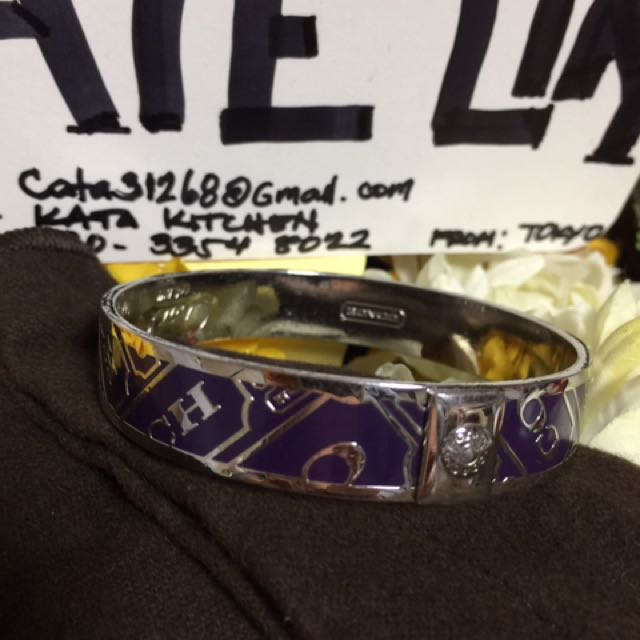 Authentic Coach Bangles