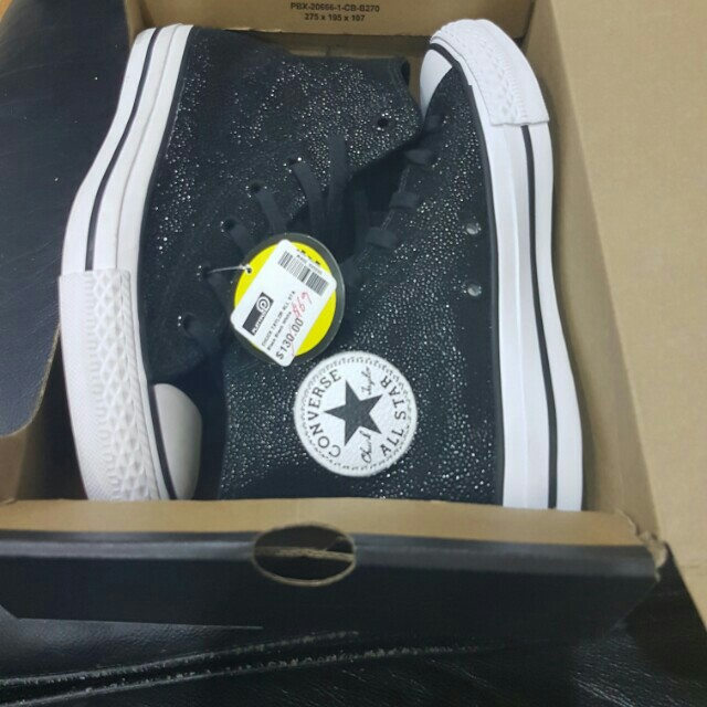 Authentic converse hightops brsnd new