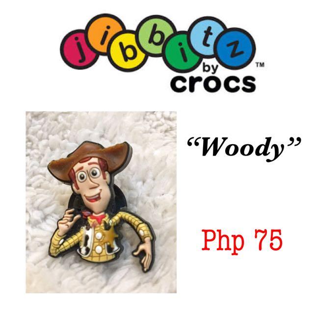 "Authentic Crocs Jibbitz Shoe Charm Series: Toy Story's ""Woody"""