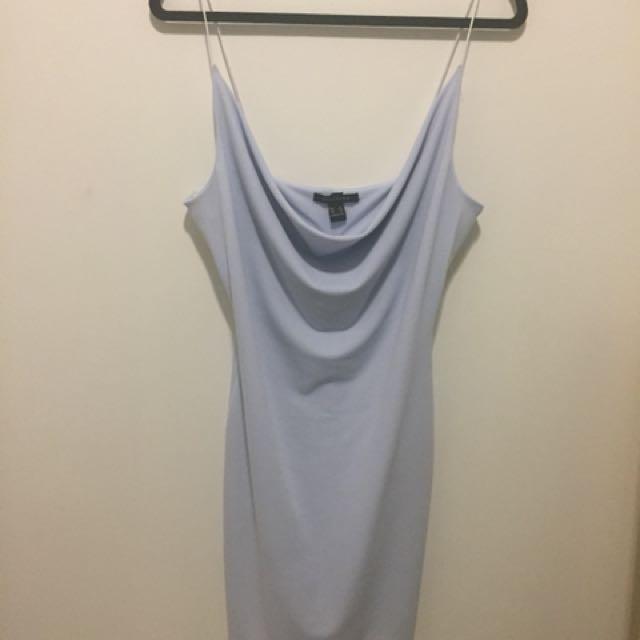 Baby Blue Scoop Dress
