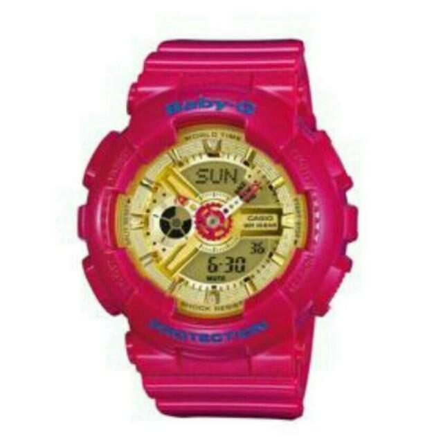 Baby-g 手錶 少女時代特別款