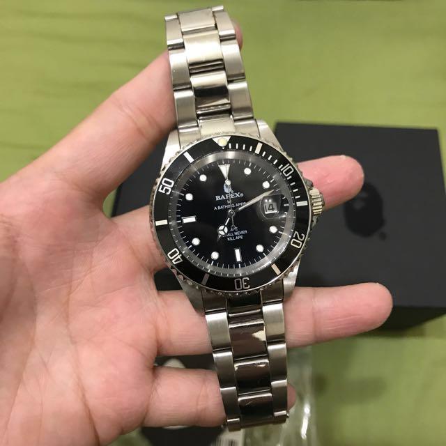 Bape手錶 bape錶 bape機械錶 手錶 精品手錶 水鬼 黑水鬼