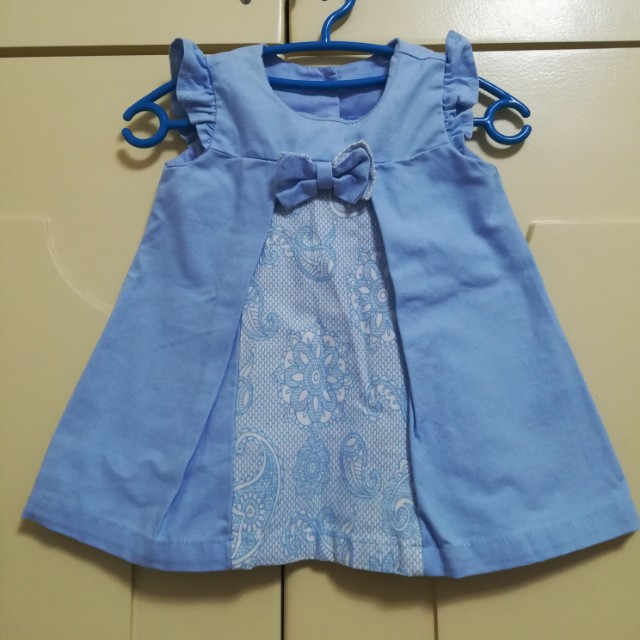 Bebe me Formal Baby Dress 0-3mos EUC