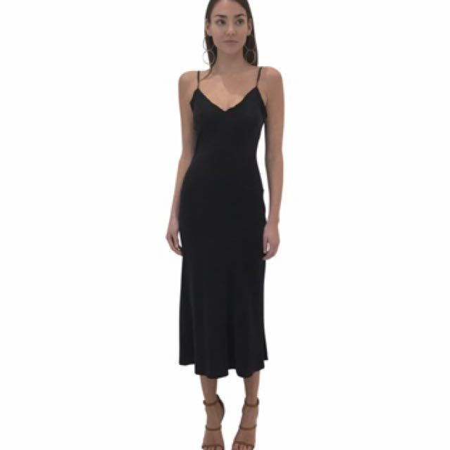 Bec & and Bridge Classic Midi Dress black small/8 manning cartell maurie eve sir the label zimmermann alice mccall