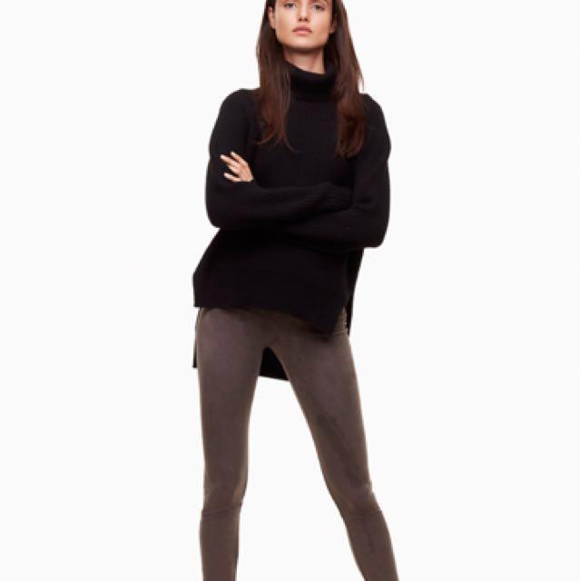 """Aritzia """"Vegan Suede"""" leggings"""