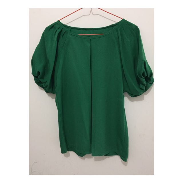 Blouse Tangan Balon