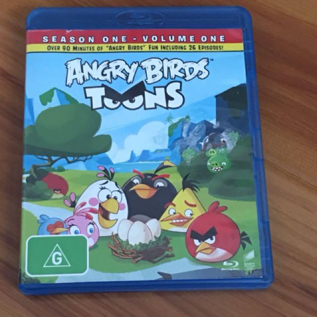 Blu ray angry birds toons