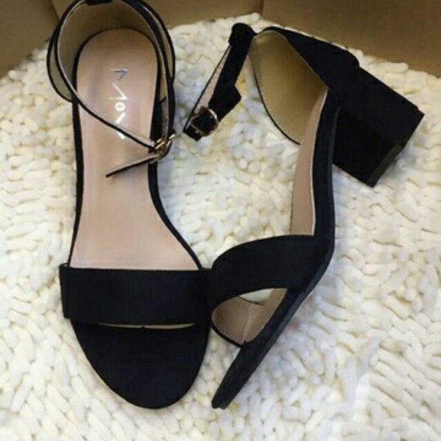 Bnew Black sandals