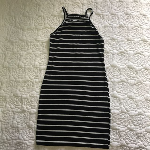 Body con dress (small) stretchable