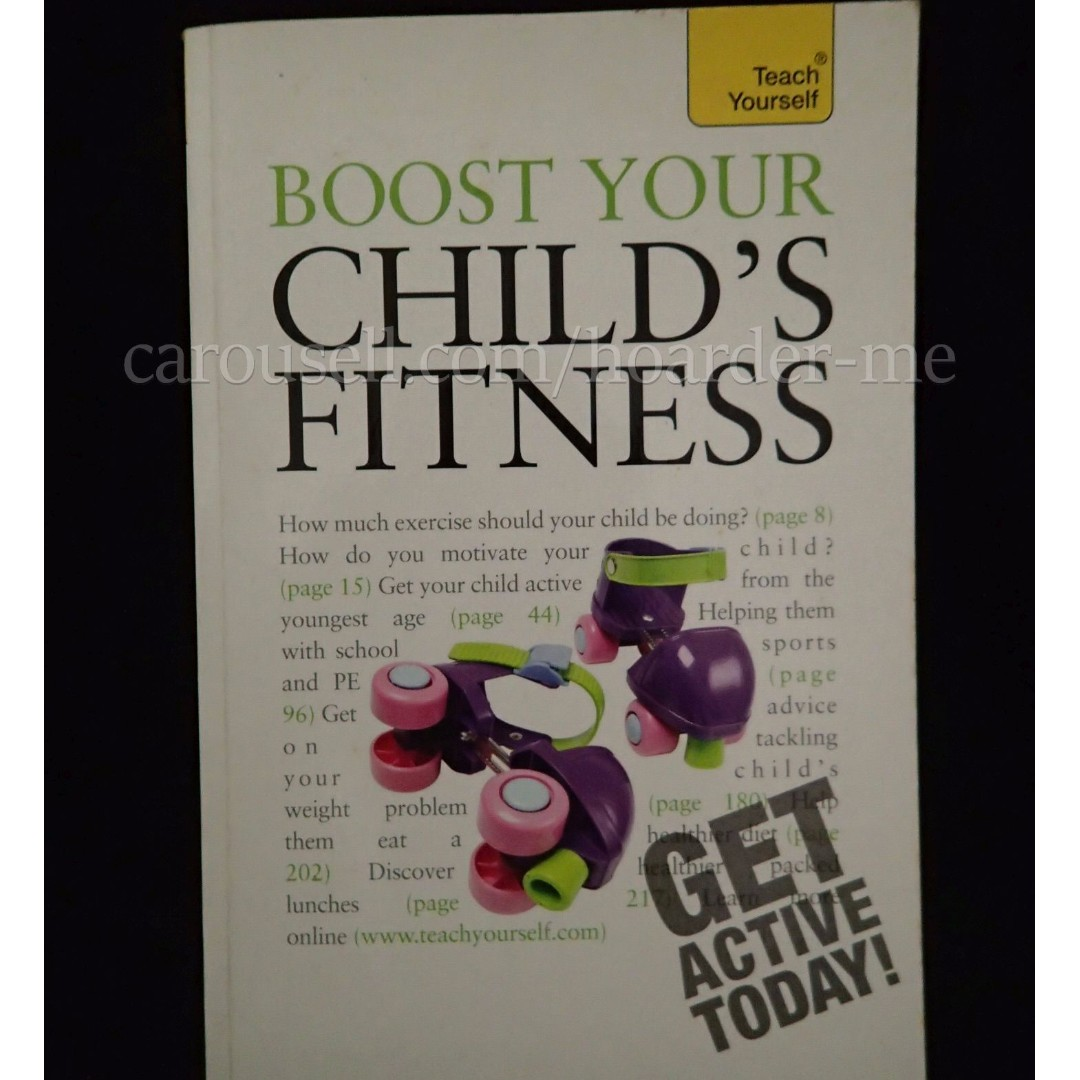 boost your child s fitness teach yourself roberts ceri