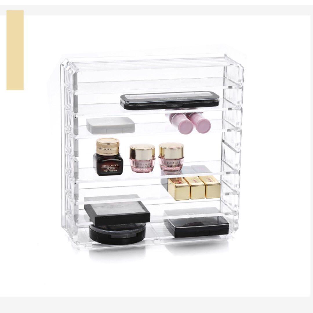 Brand New Clear Acrylic Palette Organiser