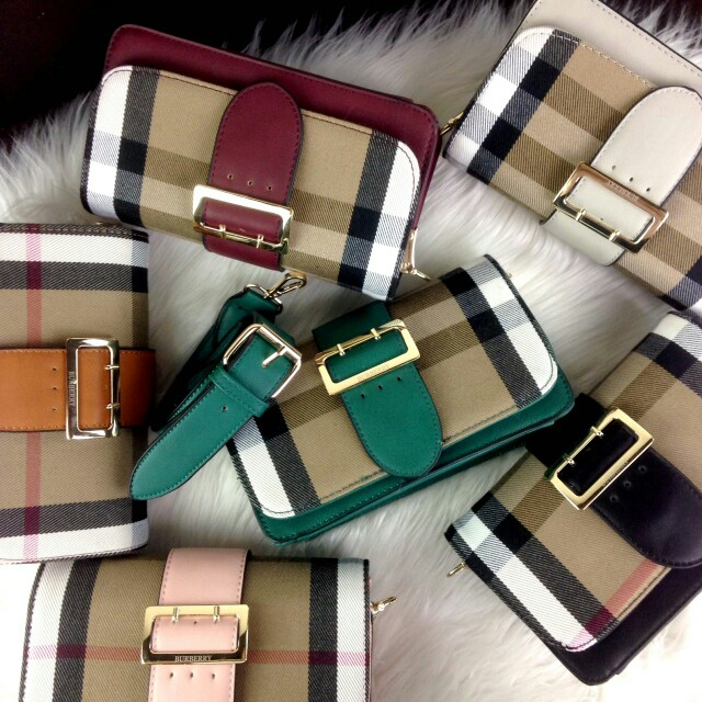 BURBERRY BELT BUCKLE BAG