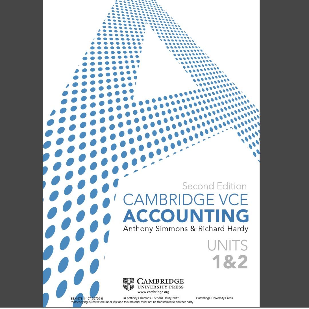 Cambridge accounting 1/2 PDF file