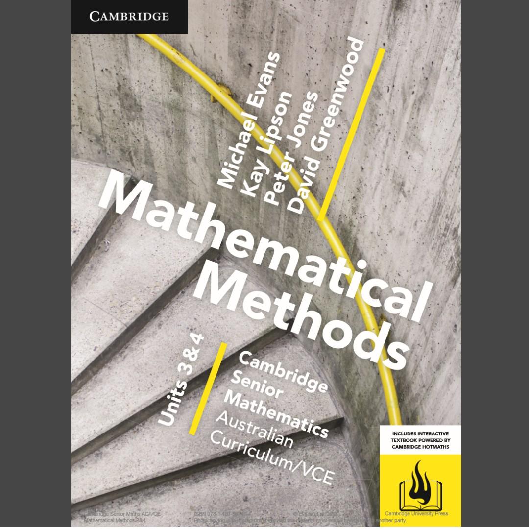 Cambridge mathematical methods 3/4 PDF file
