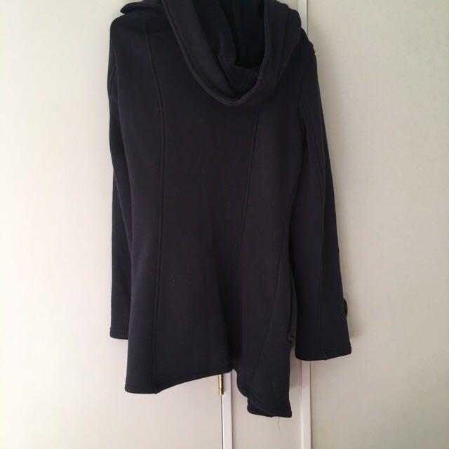 charcoal warm coat
