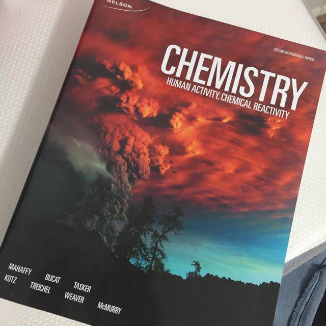 Chemistry human activity/ chemical activity