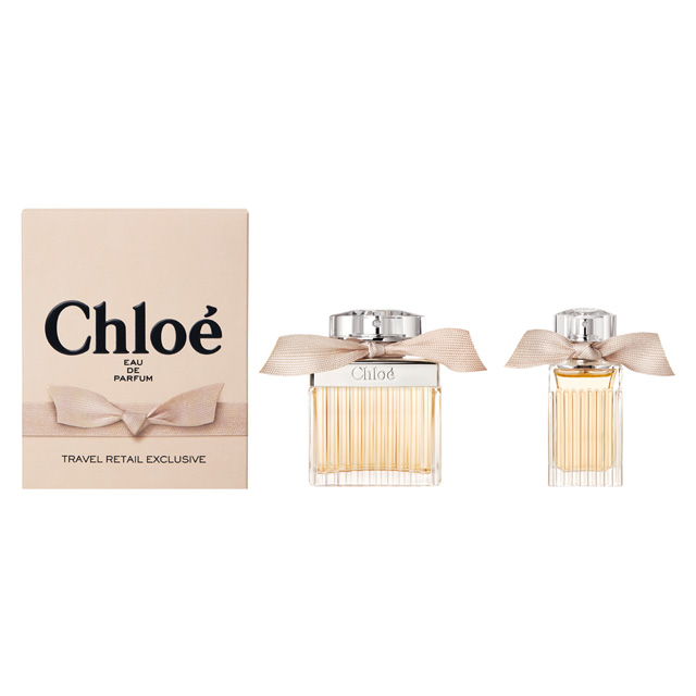 Women Signature 2 Gift Chloe Set Exclusive For Retail Travel Pcs Y7ybg6f