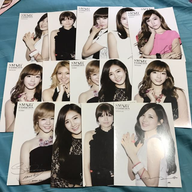 [CLEARANCE] SNSD SMART EXHIBITION Official Postcard