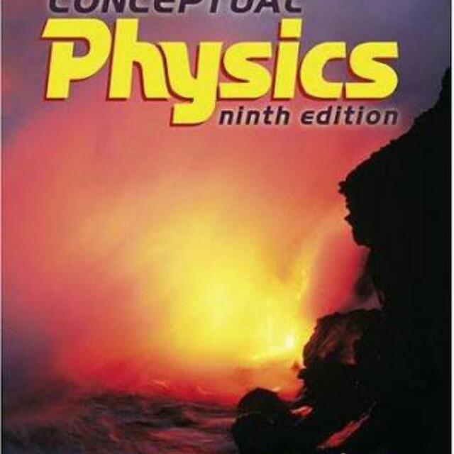 Conceptul Physics ninth edition - Paul G Hewitt