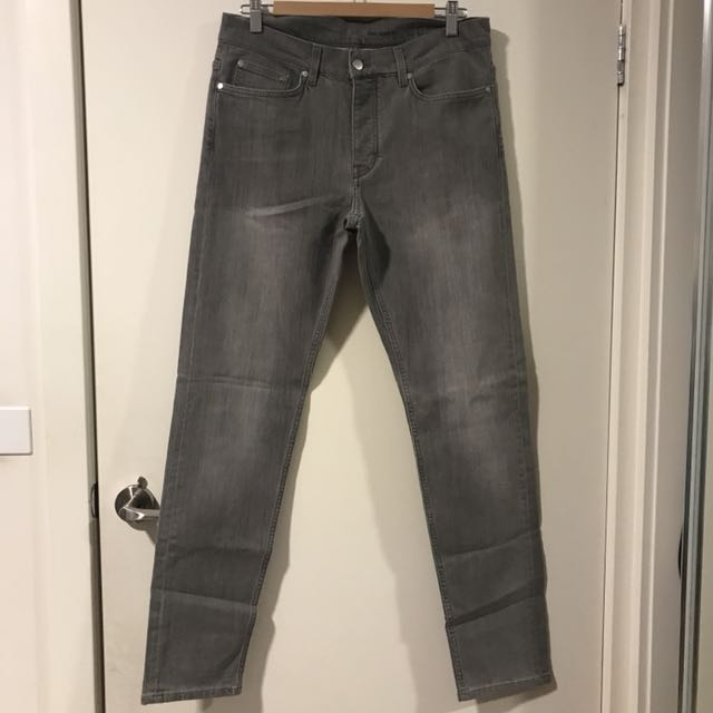 COS Grey Slim Tapered Jeans Size 30