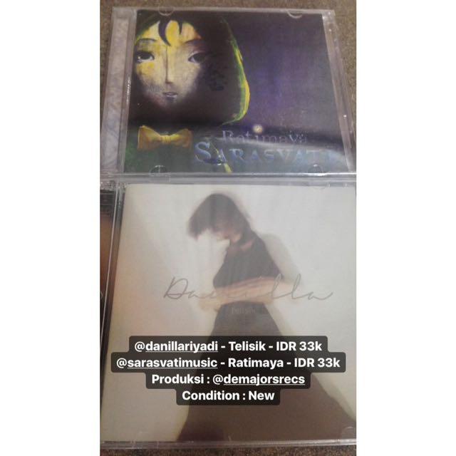 @danillariyadi - Telisik & @sarasvatimusic - Ratimaya Produksi : @demajorsrecs  Condition : New