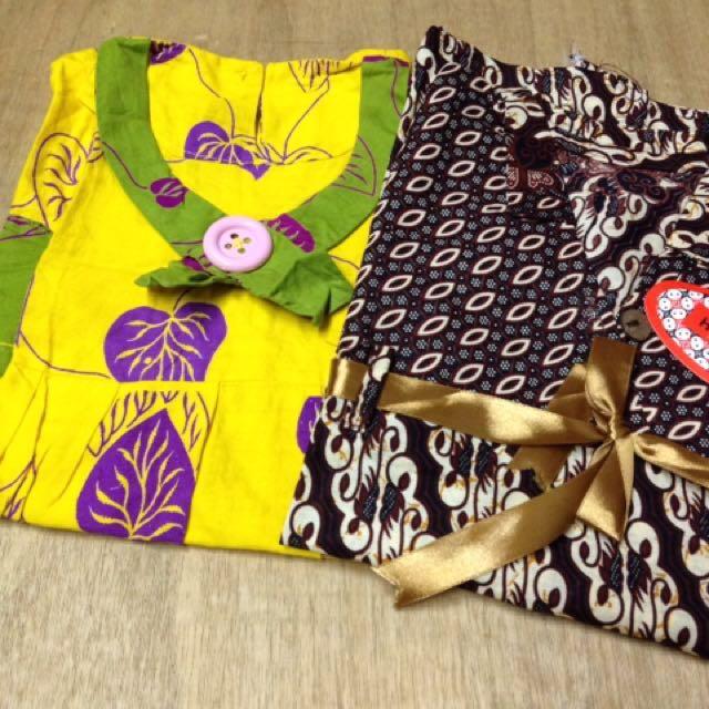 Dress batik take all