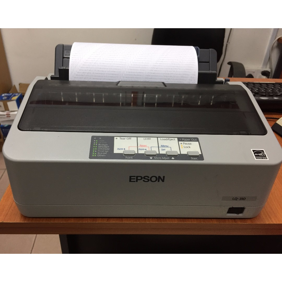 Epson Lx 310 Dot Matrix Printer Daftar Harga Terbaru Terlengkap Lq Electronics Computer Parts Accessories On Carousell