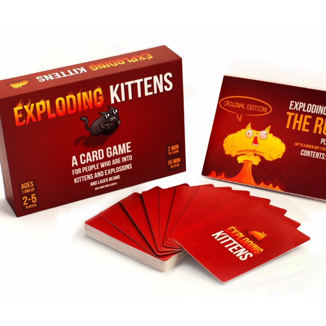 Exploding Kittens: A card game