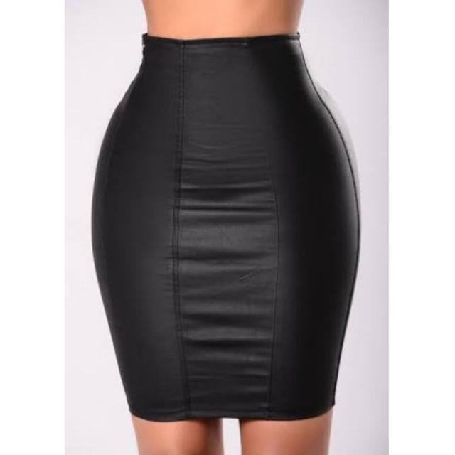 Fashion Nova When You Dance Pencil Skirt Black XS