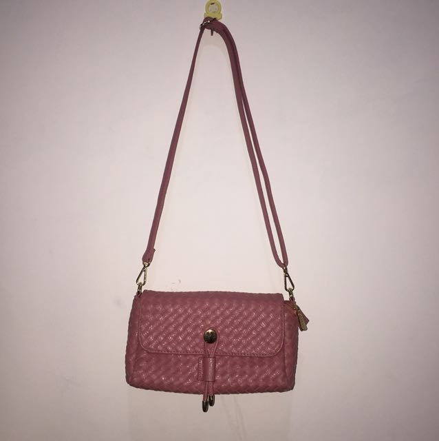 Fladeo sling bag (pink)