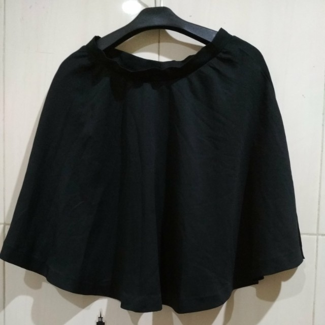 Flare Skirt Black