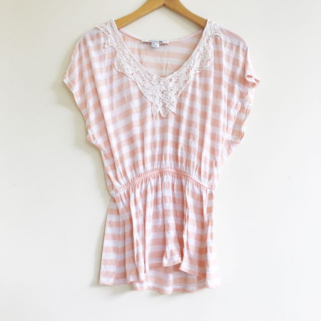 Forever21 stripe top