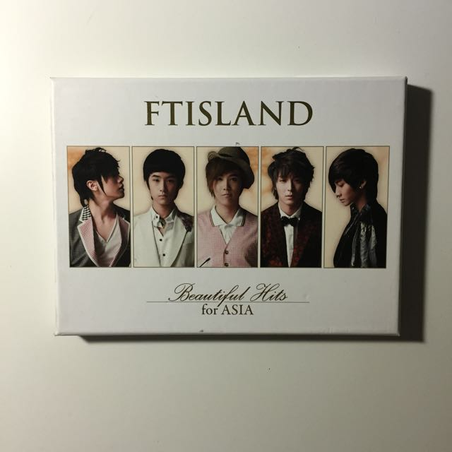 FTISLAND Beautiful Hits CD+DVD