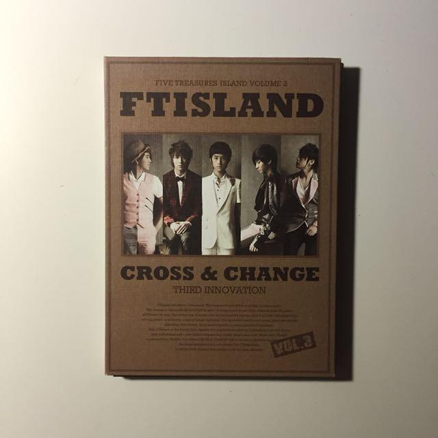 FTISLAND CROSS & CHANCE 韓版專輯