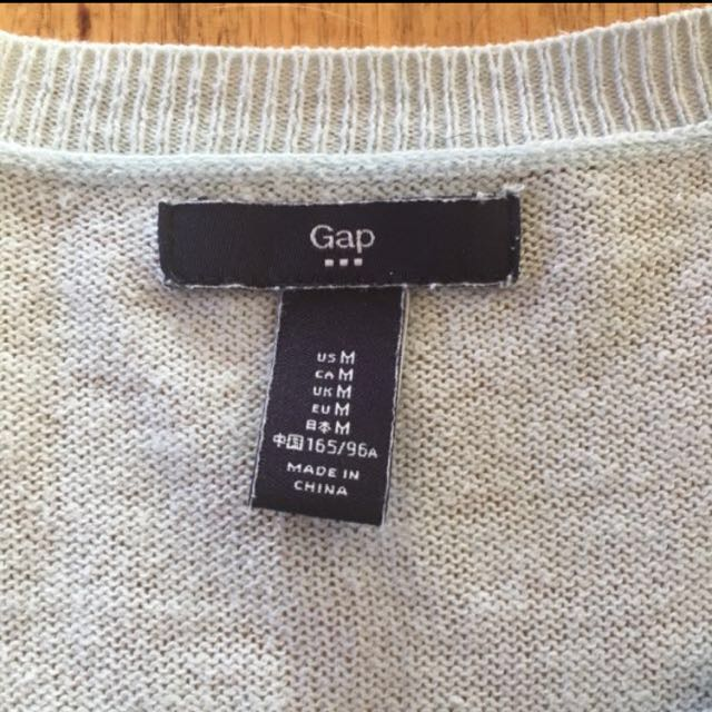 Gap Baby Blue Knit