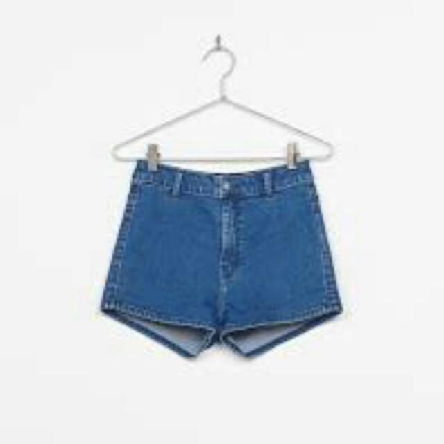 Gorman High Waist Denim Shorts