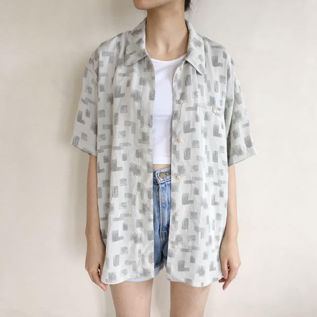Grey Square Shirt
