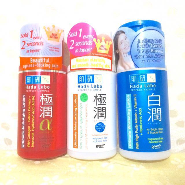 Hada Labo lotion skin care