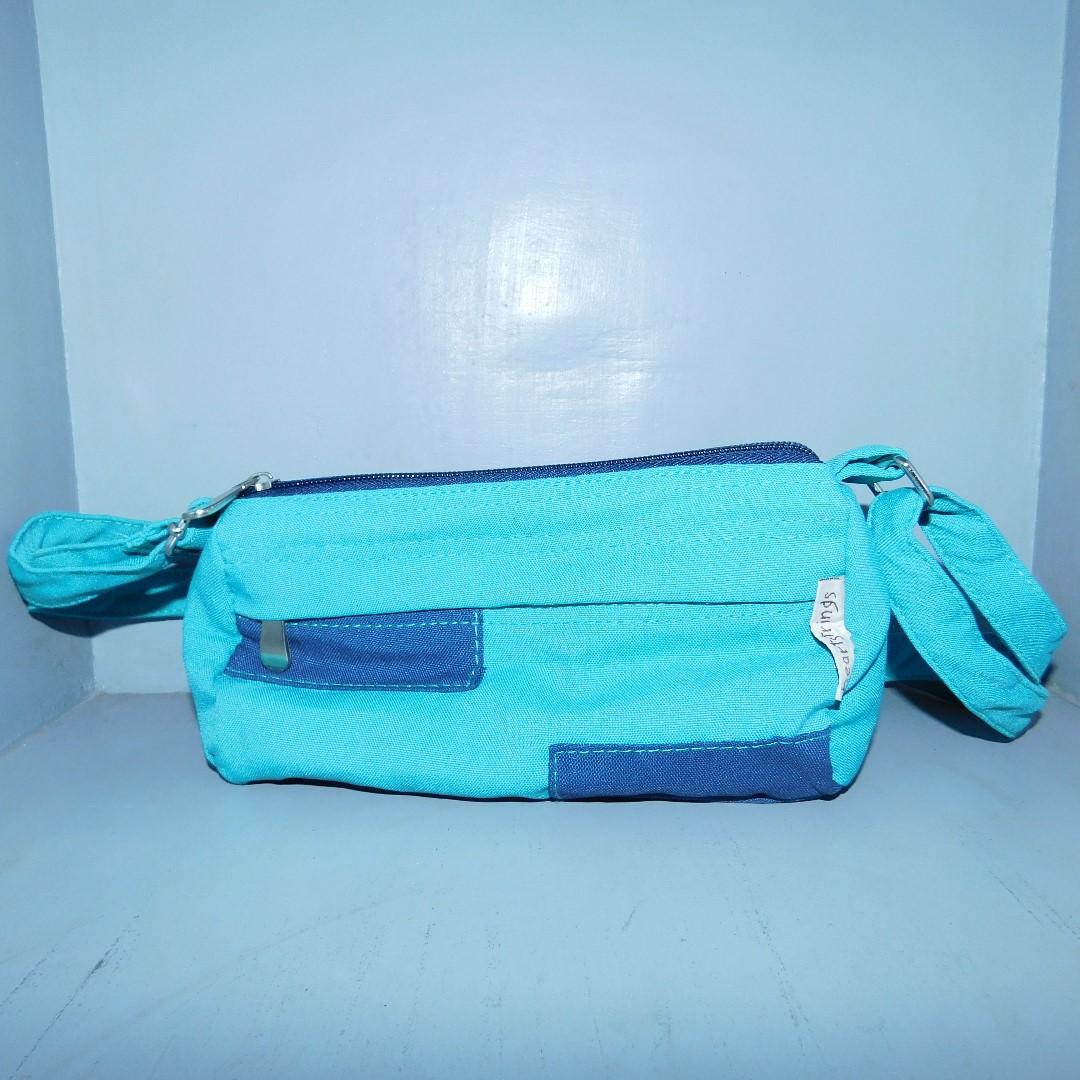 Heartstrings Blue Mini Body Bag