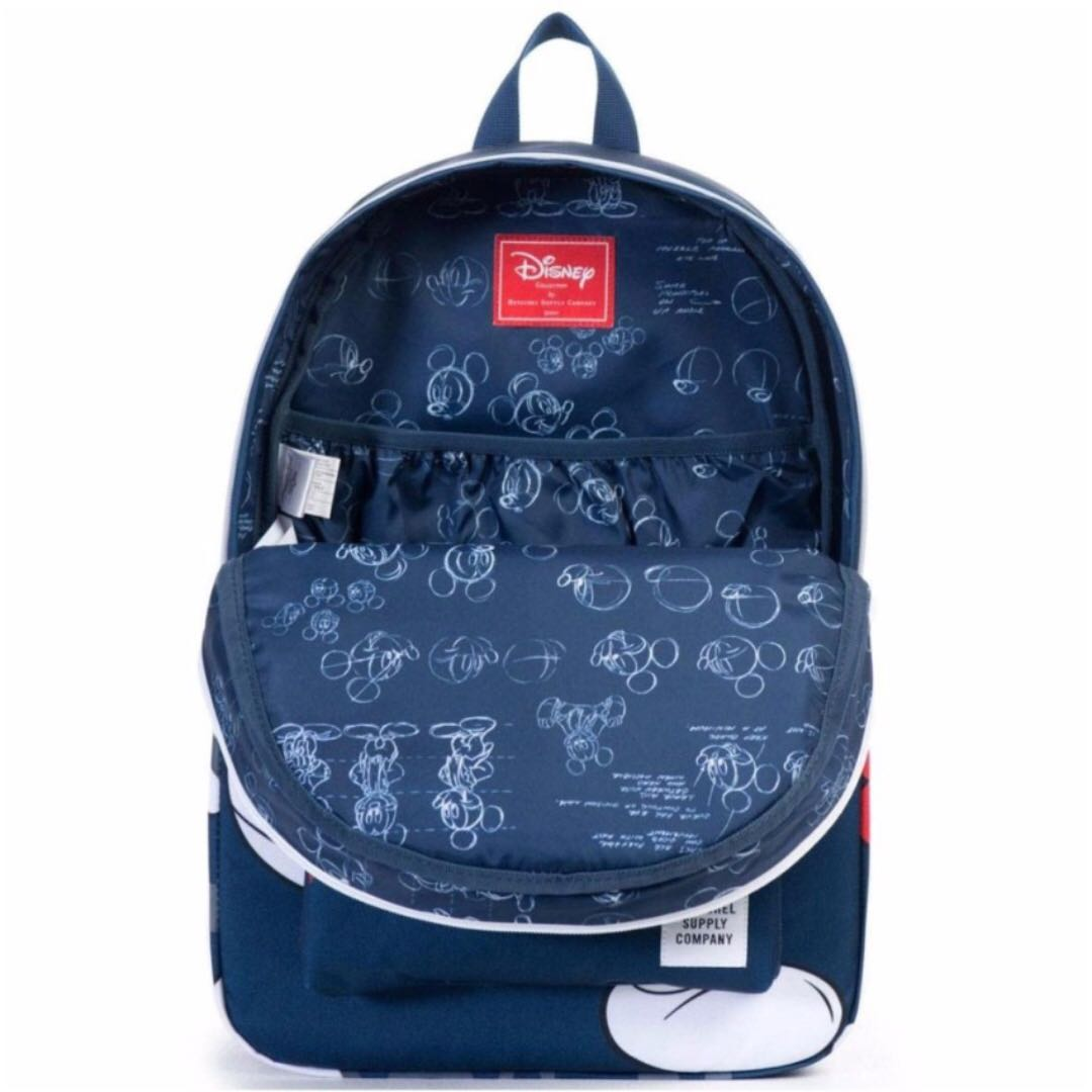 HERSCHEL SUPPLY CO X DISNEY SETTLEMENT BACKPACK - MICKEY (NAVY ...