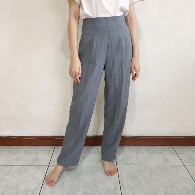 Highwaist Grey Pants
