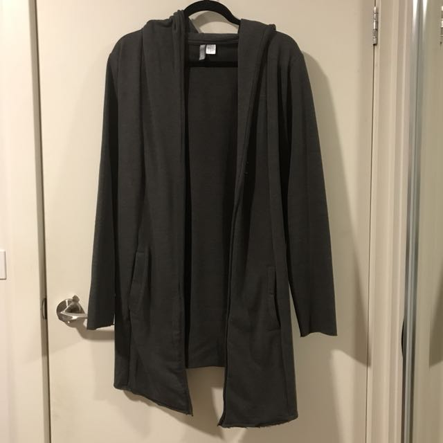 H&M Hooded Long Cardigan Size M
