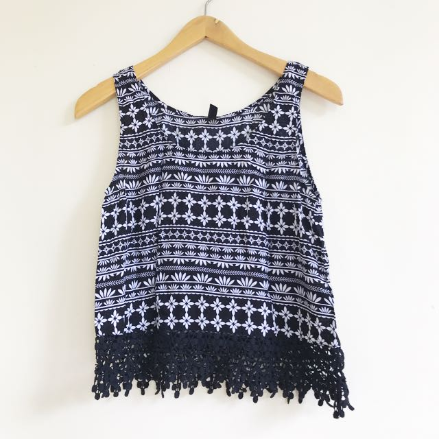 H&M tribal top