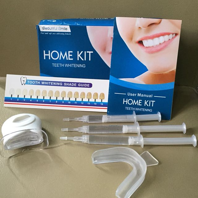 Home kit teeth whitening