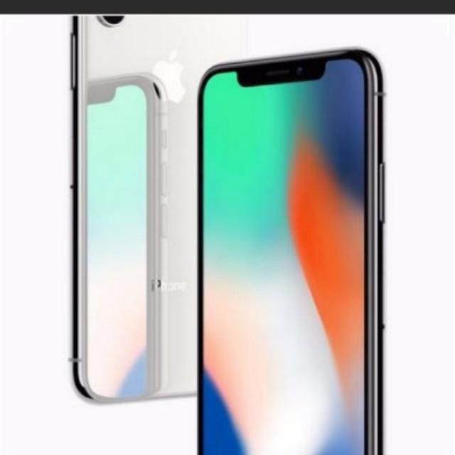 Iphone x brand new singtel set 256gb