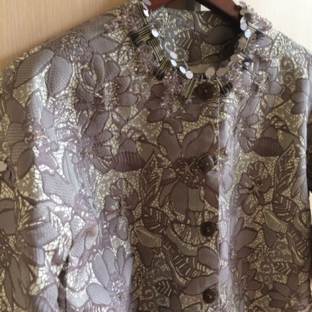 Jacquard top/jacket
