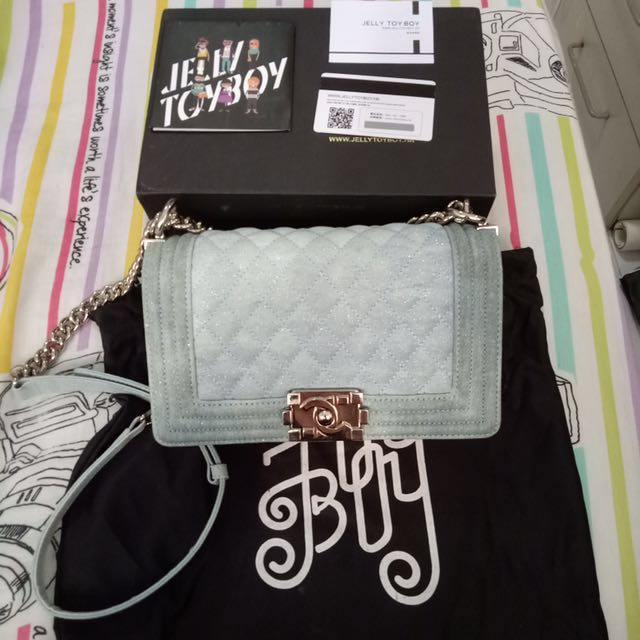 1ecbc42165dc Jelly Toy Boy I'm Not Chanel Bag, Luxury, Bags & Wallets on Carousell