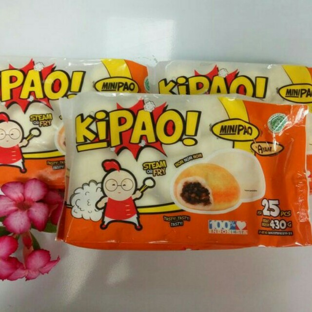 Kipao Bakpao mini