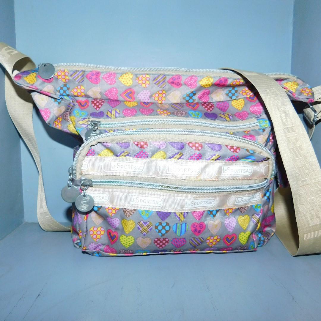 Le Sport Sac Flower Design Bag